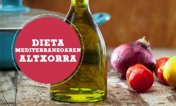 Gure  dieta  mediterraneoaren  altxorra